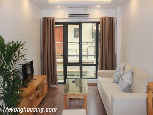 Nice serviced apartment with 1 bedroom for rent in Hoang Quoc Viet street, Cau Giay district, Hanoi 2