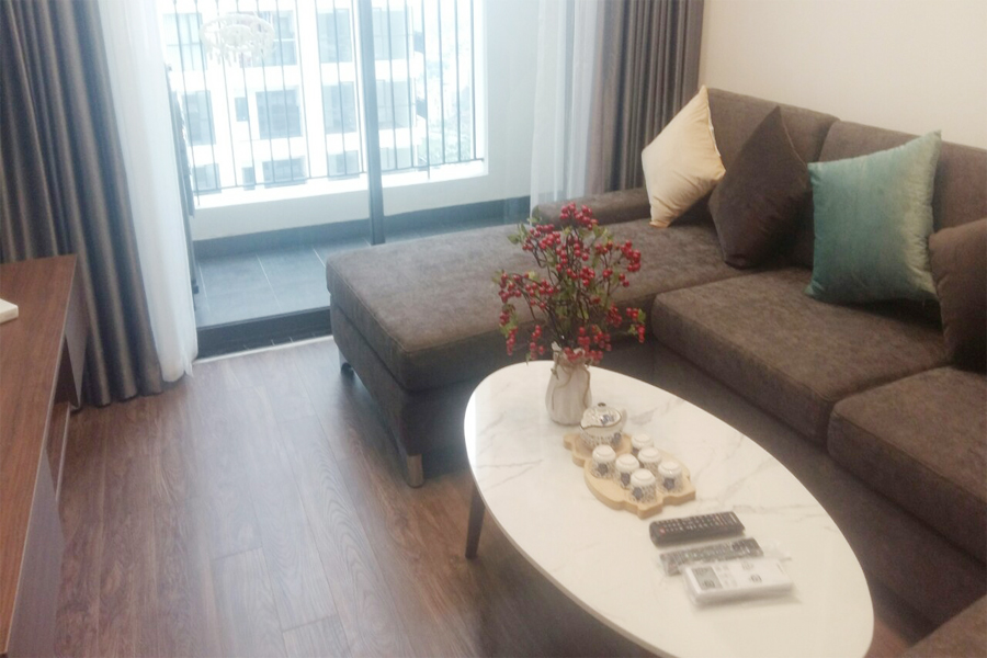 Nicely decorated apartment with 2 bedrooms on high floor in R1 tower, Sunshine Riverside Hanoi 2