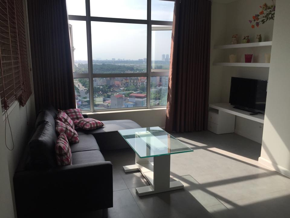 Furnished 1 bedrooom apartment for rent at good price in Watermark, Lac Long Quan street