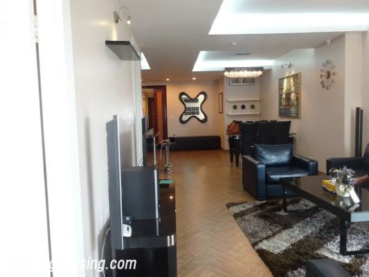Nicely furnished 3 bedroom apartment with nice view for rent in E4 tower, Ciputra, Tay Ho, Hanoi 4