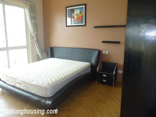 Nicely furnished 3 bedroom apartment with nice view for rent in E4 tower, Ciputra, Tay Ho, Hanoi 5