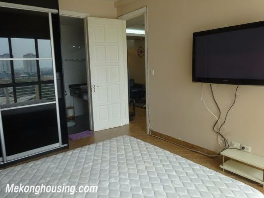 Nicely furnished 3 bedroom apartment with nice view for rent in E4 tower, Ciputra, Tay Ho, Hanoi 6