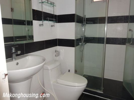 Nicely furnished 3 bedroom apartment with nice view for rent in E4 tower, Ciputra, Tay Ho, Hanoi 10