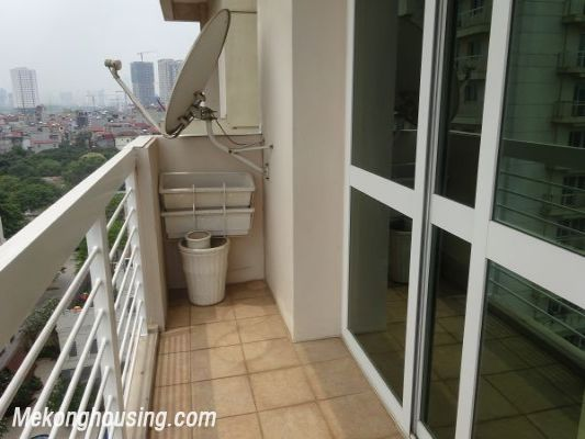 Nicely furnished 3 bedroom apartment with nice view for rent in E4 tower, Ciputra, Tay Ho, Hanoi 11