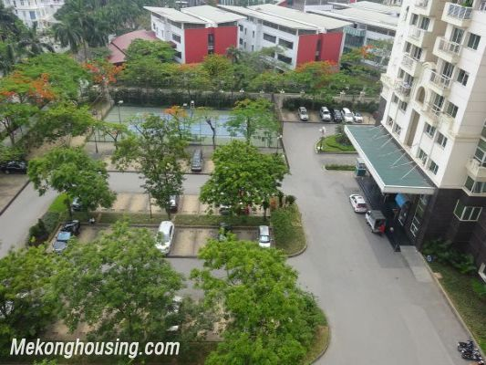 Nicely furnished 3 bedroom apartment with nice view for rent in E4 tower, Ciputra, Tay Ho, Hanoi 12