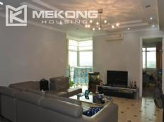 Nicely furnished 3 bedroom apartments for rent in E4 tower, Ciputra Hanoi