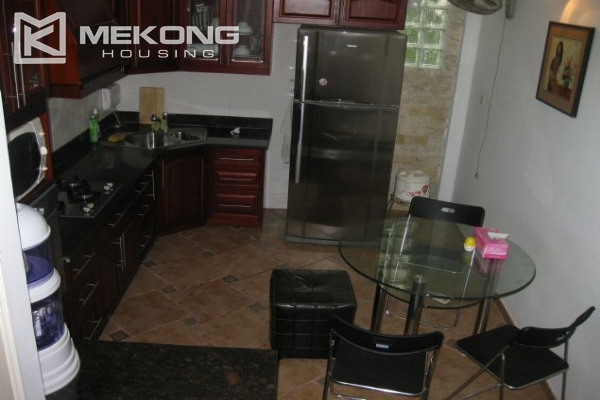 Nicely furnished house with 3 bedrooms at good price for rent in Au Co street 3