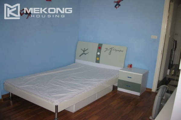 Nicely furnished house with 3 bedrooms at good price for rent in Au Co street 9