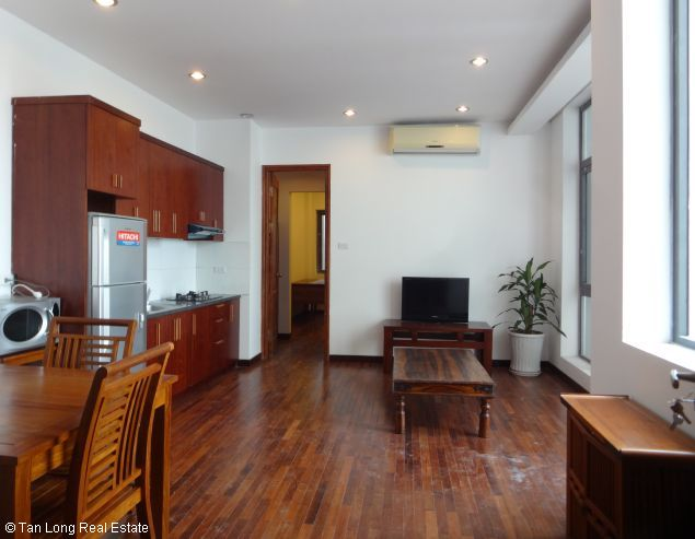 One bedroom serviced apartment for rent in Dang Thai Mai street, Tay ho district, Hanoi