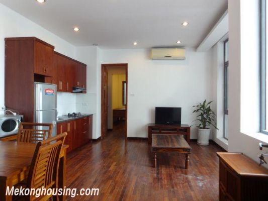 One bedroom serviced apartment for rent in Dang Thai Mai street, Tay ho district, Hanoi 1