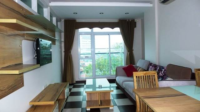 One bedroom serviced apartment for rent in Hoang Hoa Tham street, Ba Dinh, Hanoi