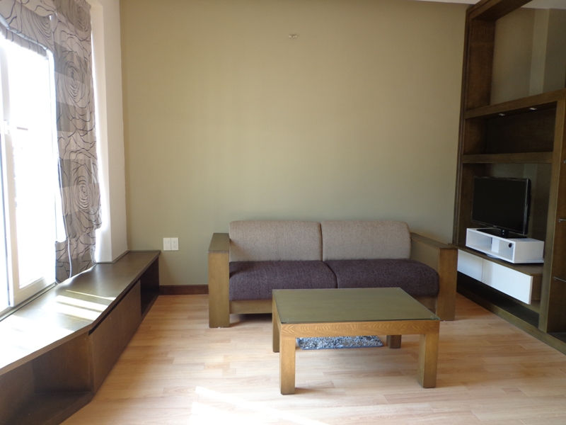 One bedroom serviced apartment for rent in Lieu Giai street, Ba Đinh district, Hanoi