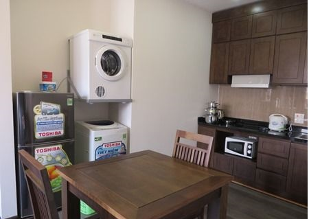 One bedroom serviced apartment for rent in Pham Tuan Tai street, Cau Giay, Hanoi