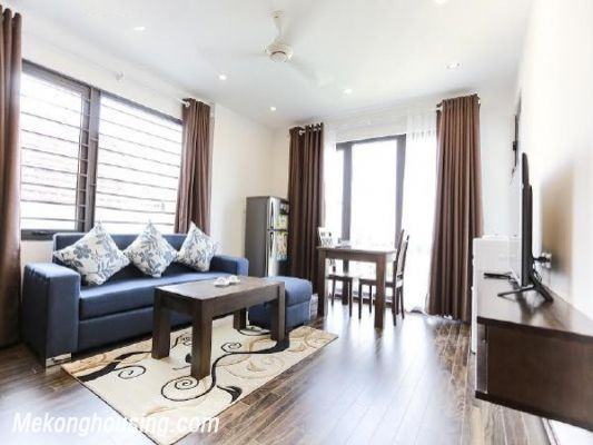 One bedroom serviced apartment for rent in Tran Quoc Hoan street, Cau Giay, Hanoi 2