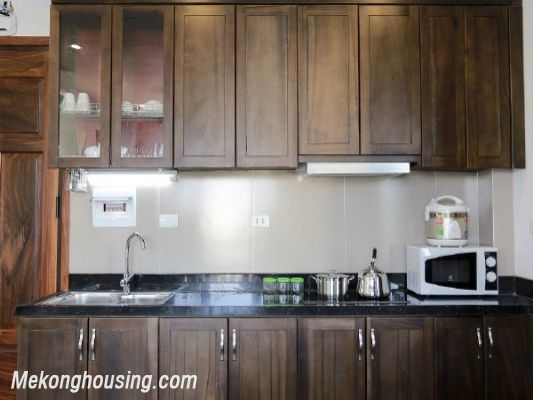 One bedroom serviced apartment for rent in Tran Quoc Hoan street, Cau Giay, Hanoi 5