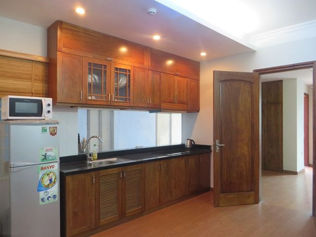 One bedroom serviced apartment for rent in Tran Quoc Hoan street, Cau Giay, Hanoi