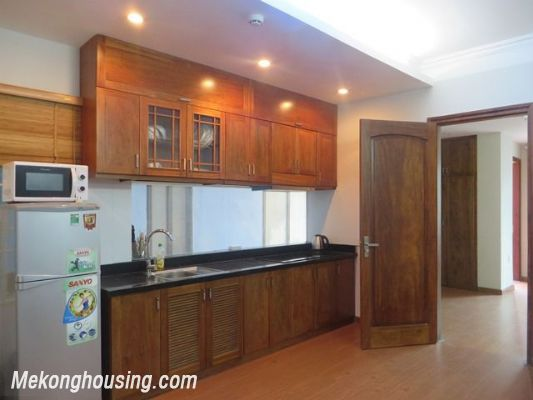 One bedroom serviced apartment for rent in Tran Quoc Hoan street, Cau Giay, Hanoi 1