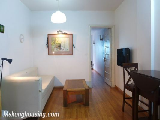 One bedroom serviced apartment for rent in Xuan Dieu district, Tay Ho, Hanoi 1