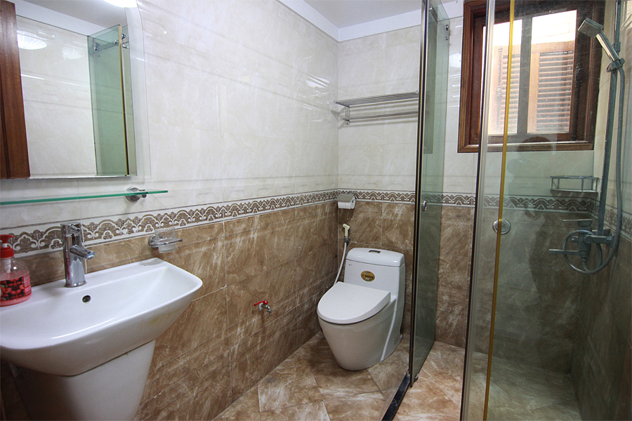 One bedroom serviced apartment for rent on Au Co street, Hanoi 11