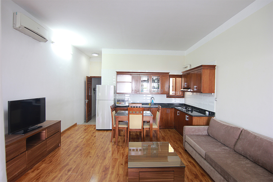 One bedroom serviced apartment for rent on Au Co street, Hanoi 6