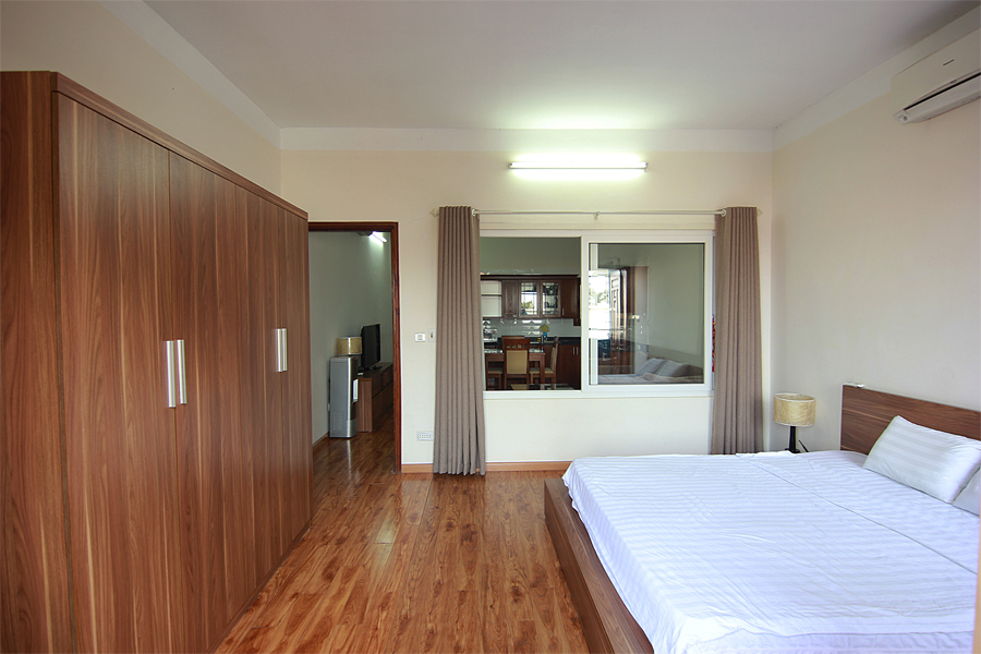 One bedroom serviced apartment for rent on Au Co street, Hanoi 8