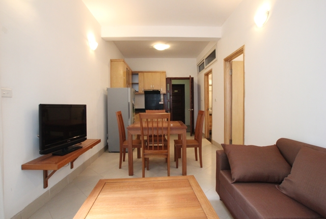 One bedroom serviced apartment in Ngoc Ha street, Ba Dinh district, Hanoi, $400/month