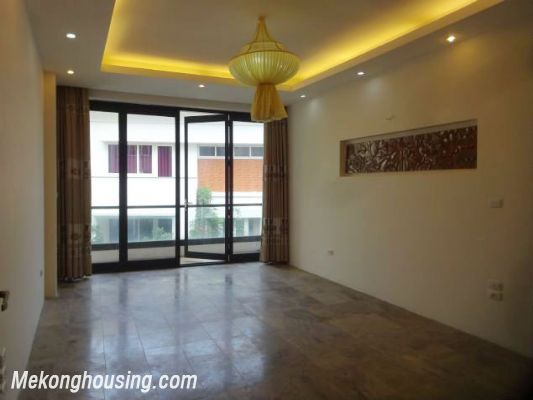 Partly furnished house with 4 bedrooms for rent in Dang Thai Mai, Tay Ho, Hanoi. 16