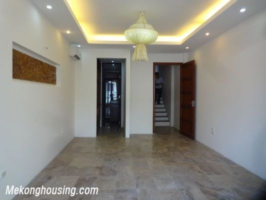 Partly furnished house with 4 bedrooms for rent in Dang Thai Mai, Tay Ho, Hanoi. 17