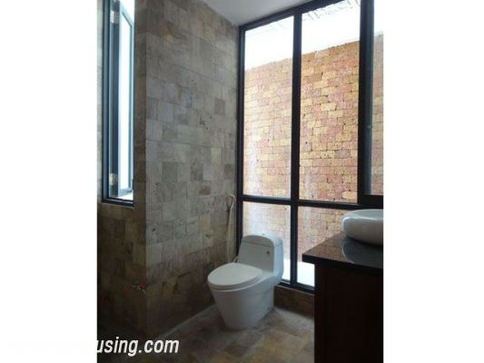 Partly furnished house with 4 bedrooms for rent in Dang Thai Mai, Tay Ho, Hanoi. 18