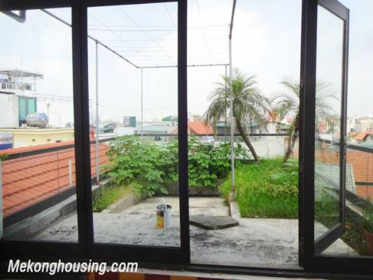 Partly furnished house with 4 bedrooms for rent in Dang Thai Mai, Tay Ho, Hanoi. 1