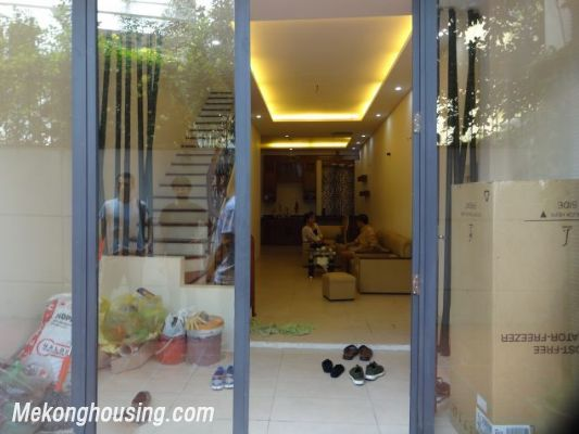 Partly furnished house with 4 bedrooms for rent in Dang Thai Mai, Tay Ho, Hanoi. 2