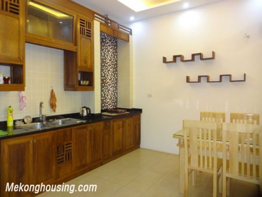 Partly furnished house with 4 bedrooms for rent in Dang Thai Mai, Tay Ho, Hanoi. 6