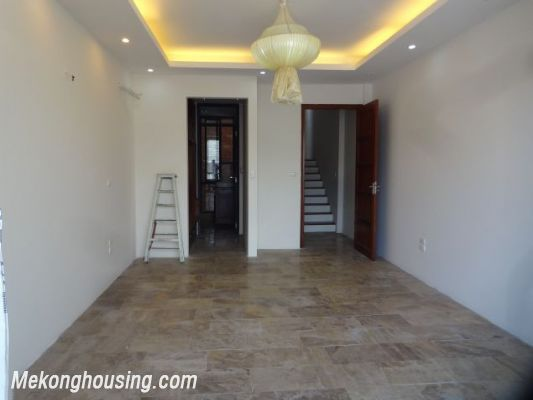 Partly furnished house with 4 bedrooms for rent in Dang Thai Mai, Tay Ho, Hanoi. 13
