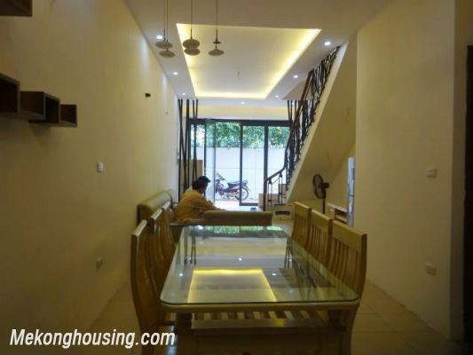 Partly furnished house with 4 bedrooms for rent in Dang Thai Mai, Tay Ho, Hanoi. 7