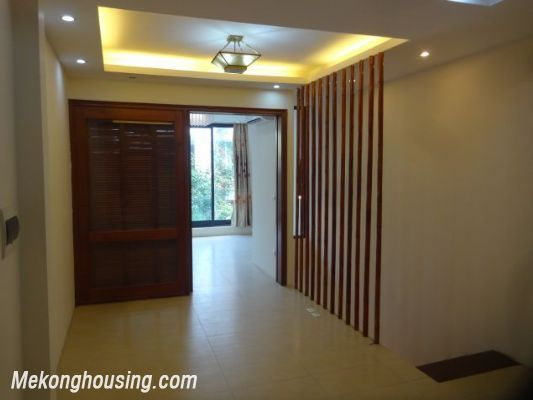 Partly furnished house with 4 bedrooms for rent in Dang Thai Mai, Tay Ho, Hanoi. 8
