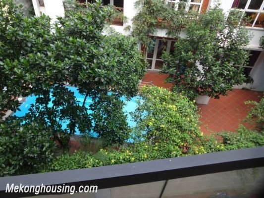 Partly furnished house with 4 bedrooms for rent in Dang Thai Mai, Tay Ho, Hanoi. 9