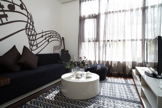 Penthouse apartment for rent in Watermark WestLake Hanoi, Cau Giay district