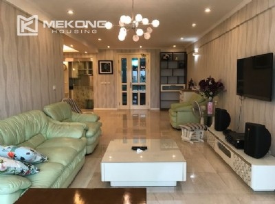 Renovated 182 m2 apartment with 3 bedrooms in P2 tower Ciputra Hanoi