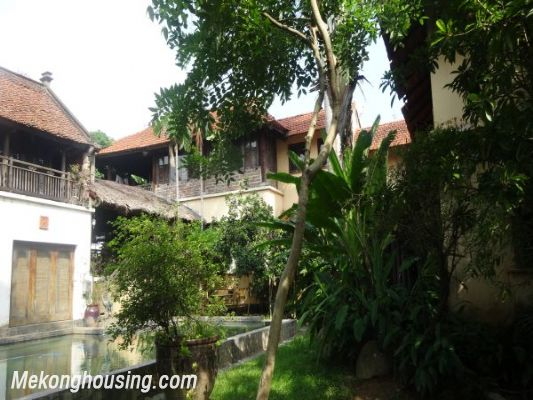 Rental old style French villa, fully furnished in Ngoc Thuy, Long Bien, Hanoi 6