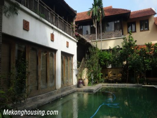 Rental old style French villa, fully furnished in Ngoc Thuy, Long Bien, Hanoi 7