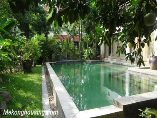 Rental old style French villa, fully furnished in Ngoc Thuy, Long Bien, Hanoi 8