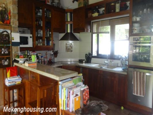 Rental old style French villa, fully furnished in Ngoc Thuy, Long Bien, Hanoi 9
