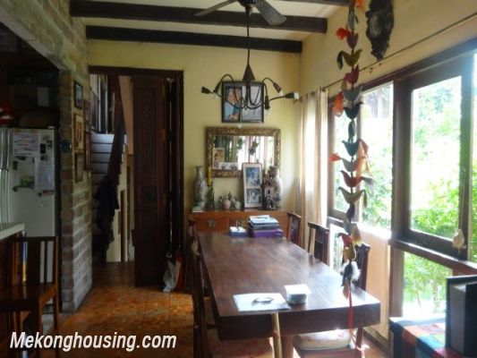 Rental old style French villa, fully furnished in Ngoc Thuy, Long Bien, Hanoi 11
