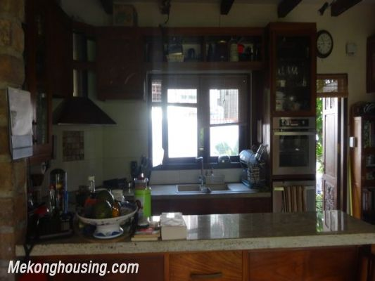 Rental old style French villa, fully furnished in Ngoc Thuy, Long Bien, Hanoi 12