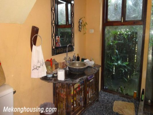 Rental old style French villa, fully furnished in Ngoc Thuy, Long Bien, Hanoi 14