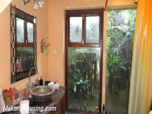 Rental old style French villa, fully furnished in Ngoc Thuy, Long Bien, Hanoi 15