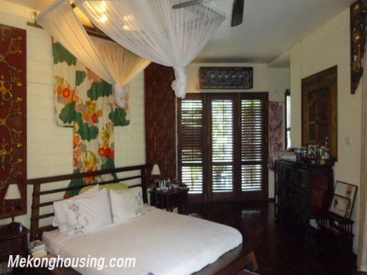 Rental old style French villa, fully furnished in Ngoc Thuy, Long Bien, Hanoi 16