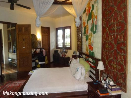 Rental old style French villa, fully furnished in Ngoc Thuy, Long Bien, Hanoi 19