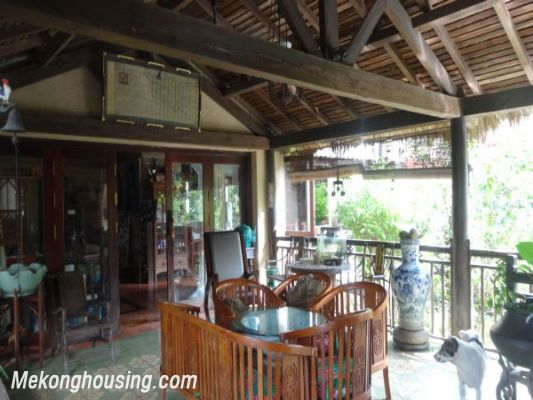 Rental old style French villa, fully furnished in Ngoc Thuy, Long Bien, Hanoi 20