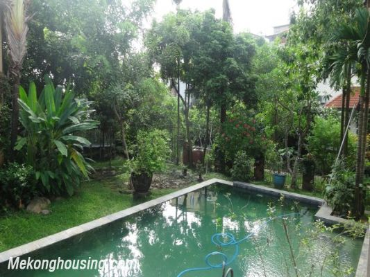 Rental old style French villa, fully furnished in Ngoc Thuy, Long Bien, Hanoi 5